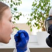 saliva and deep nasal swabs diagnosing COVID-19 - تشخیص کووید 19 تست حلقی تست بزاقی