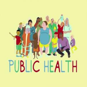 سلامت عمومی وب استوری آیکون
