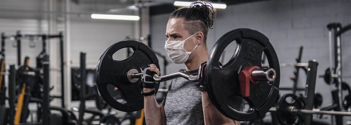 Face masks do not hinder breathing during exercise - استفاده از ماسک در هنگام ورزش باعث اختلال در تنفس نمی شود