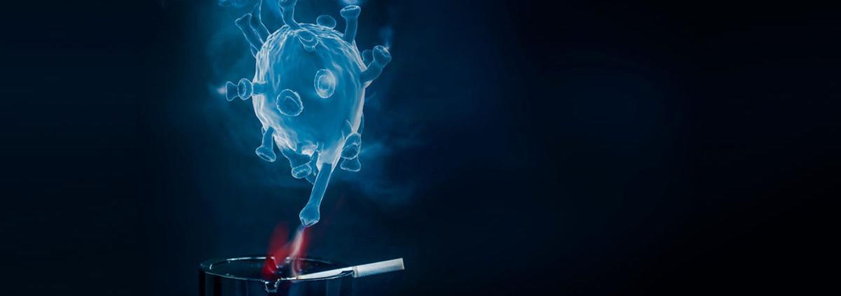 Smoking associated with increased risk of COVID19 symptoms - سیگار کشیدن علایم ابتلا به کرونا را تشدید می کند