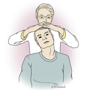 Spurling neck compression test