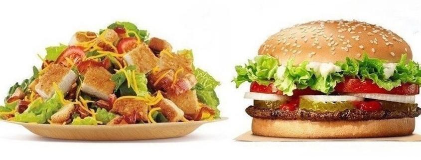 Salad or cheeseburger Your coworkers shape your food choices - سالاد یا چیزبرگر تاثیر همکاران بر انتخاب غذایی یکدیگر