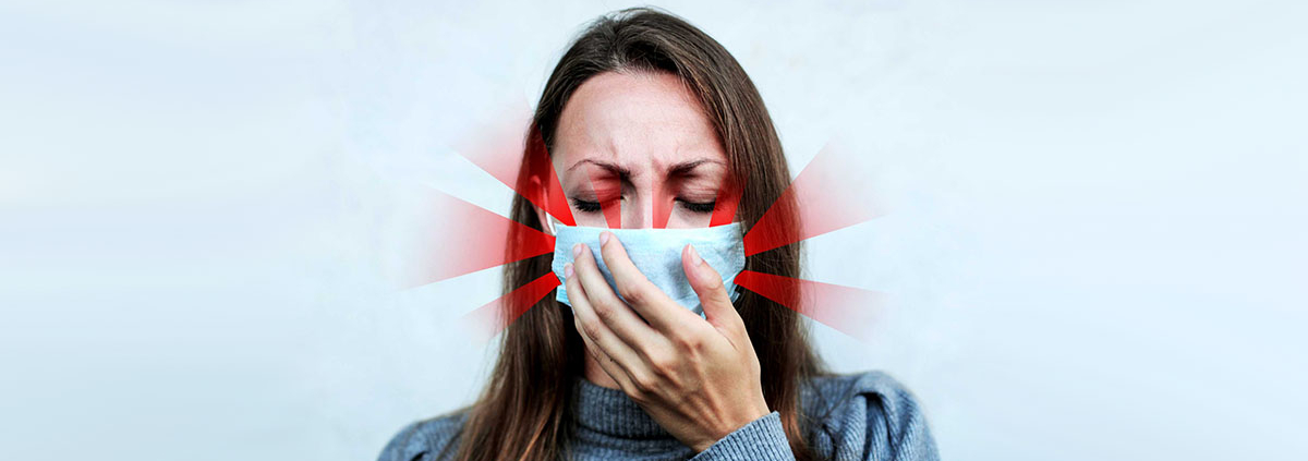 COVID-19 Coughing without masks distancing alone is not enough - فاصله گذاری بدون ماسک کم اثر